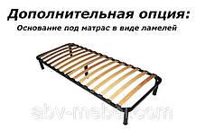 Кровать (каркас) 90 Вайт Ясень снежный (Гербор TM), фото 3
