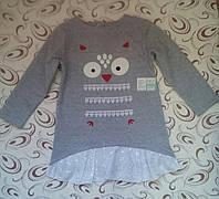 Платье девочке Совушка, 5 лет (116 см)