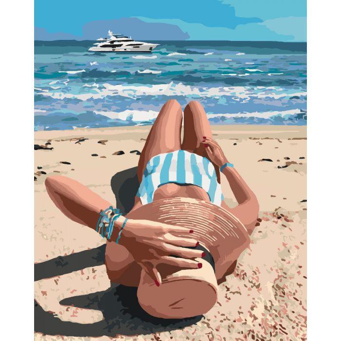 Картина по номерам Чудесное лето KHO4515 Идейка 40 х 50 см (без коробки)