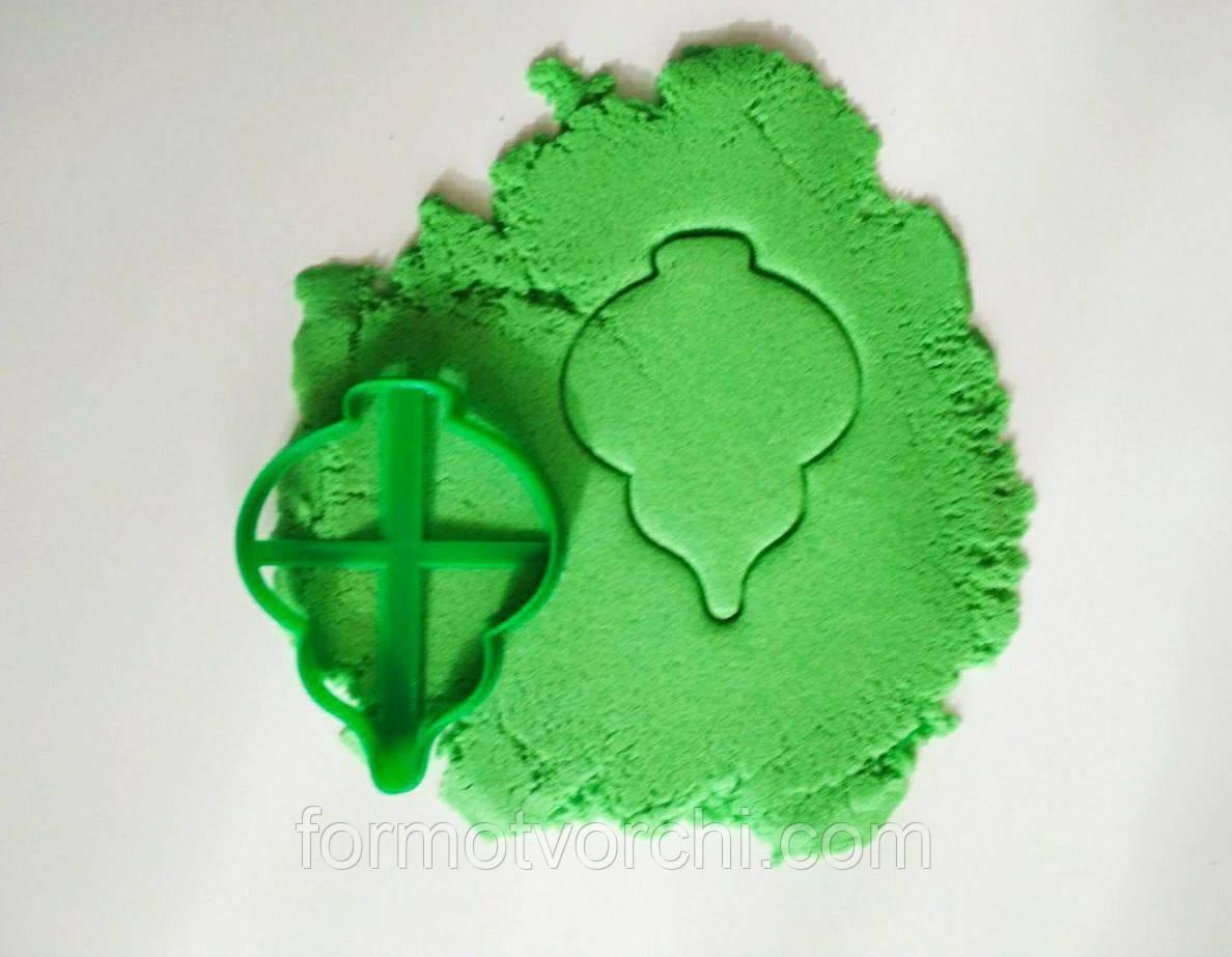 """3D формочки-вырубки для пряников """"Ёлочная игрушка 17"""""""