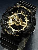 Часы наручные Casio g-shock ga120, водонипроницаемые, ударопрочный корпус