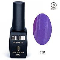 Гель-лак Milano 8 мл, № 100