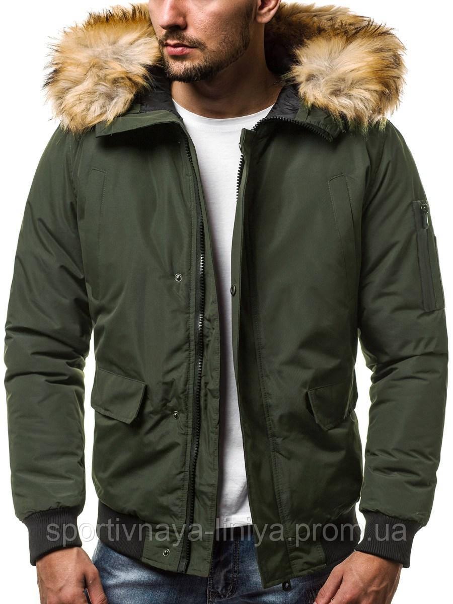 Куртка мужская демисезонная с мехом
