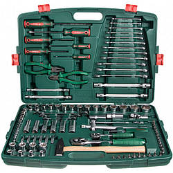 Универсальный набор инструментов Hans под квадраты 1/4'' и 1/2'' 109 предметов (TK-109)
