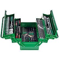 Профессиональный набор инструментов Hans 1/2'' и 1/4'' 111 предметов (TTB-111G)