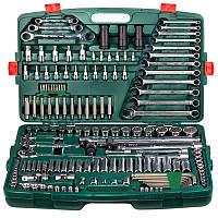 Универсальный набор инструментов Hans под квадраты 1/4'' - 1/2'' - 3/8'' 163 предмета (ТК-163)