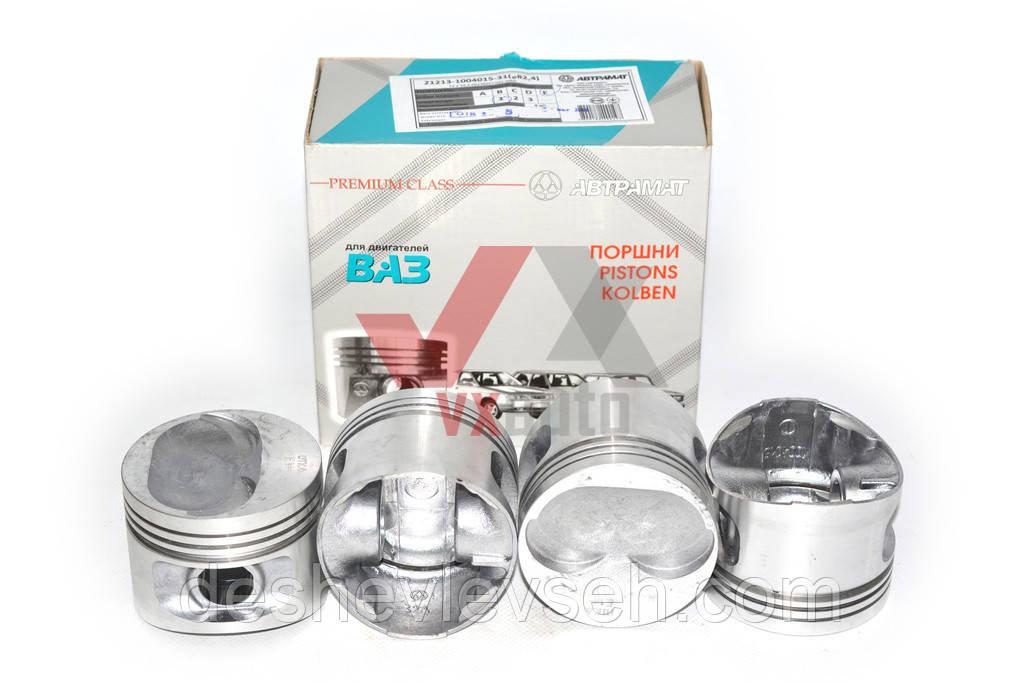 Поршень   двигателя  ВАЗ-21083 d=82.4 (гр.А, Б), 21083-1004015-31 (Автрамат)