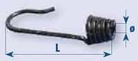 Концевик эспандера, пружинный