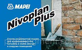 Морозостійкий водонепроникний цементний розчин з високою адгезією Mapei Nivoplan Plus 25кг,Харків, фото 2