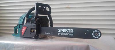 Бензопила Spektr 6300 п/п 2 шина, 2 цепи суперзуб, праймер