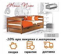 Кровать детская деревянная Нота Плюс фабрика Эстелла