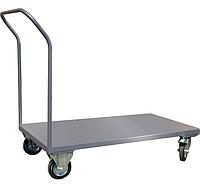 Тележка платформенная ТПП1Р12Х7 1250х700*Н1100 мм, колеса 160 мм, г/п 450 кг, фото 1