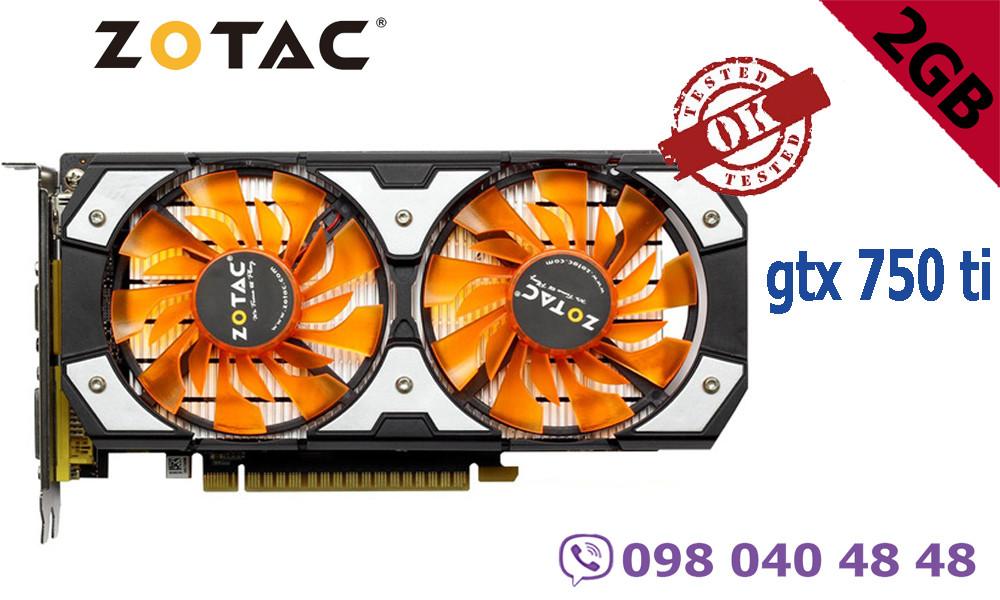 Видеокарта Zotac GTX 750 Ti 2GB 128bit