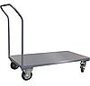 Тележка платформенная ТПП1Р15Х8 1500х800*Н1100 мм, колеса 160 мм, г/п 450 кг