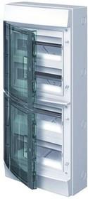 Навесной шкаф ABB Mistral на 48 модулей, прозрачные дверцы, IP65 1SL1207A00