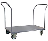 Тележка платформенная ТПП2Р15Х8 1500х800*Н1100 мм, колеса 160 мм, г/п 450 кг, фото 1
