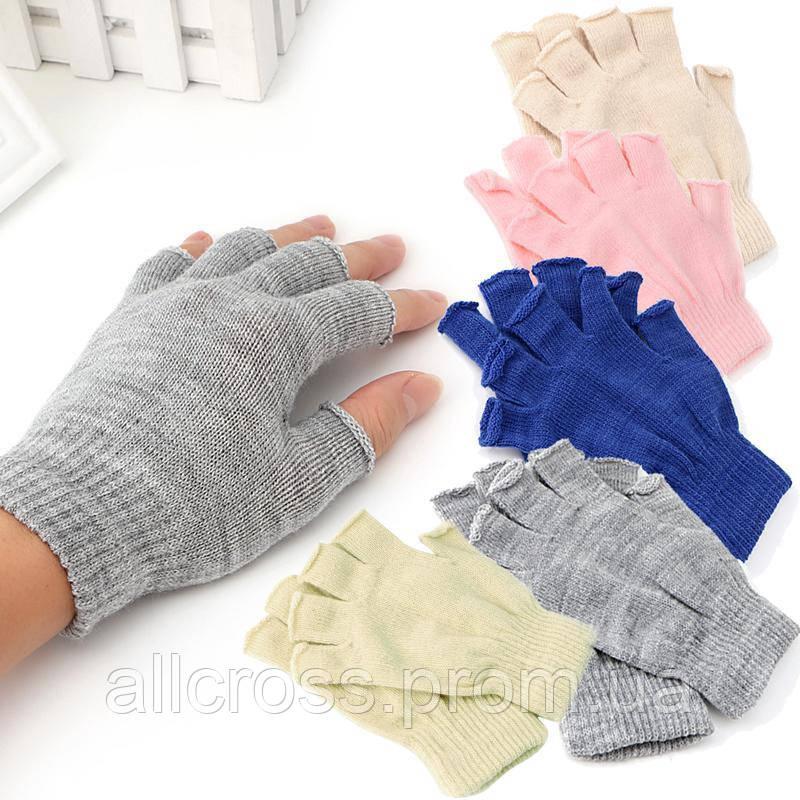 Митенки с пальцами