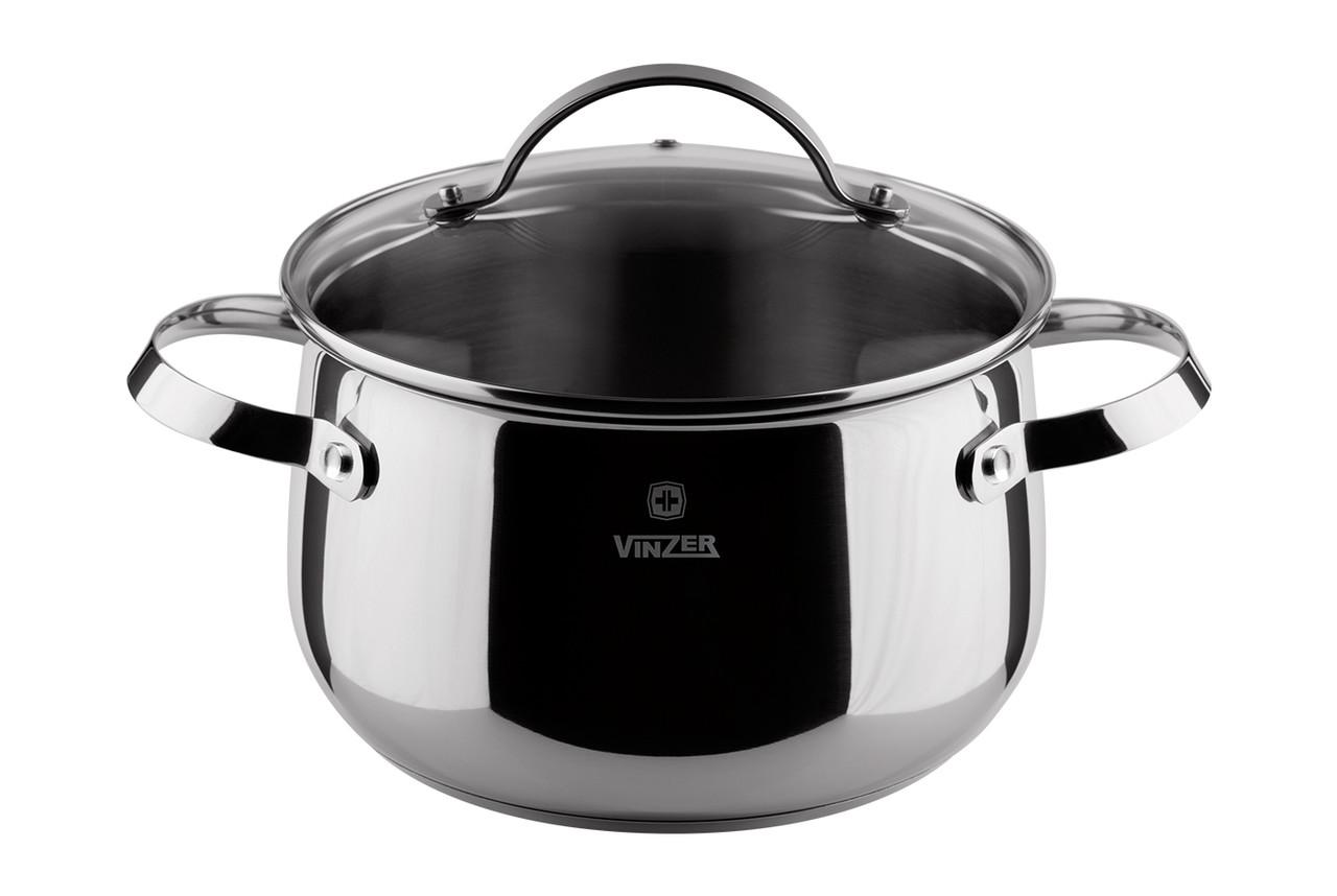 Кастрюля с крышкой Culinaire series Ø 24 см 7 л Vinzer 89168
