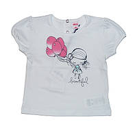 Хлопковая футболка для девочки Украина TM Harmony 122, 100% хлопок, Украина