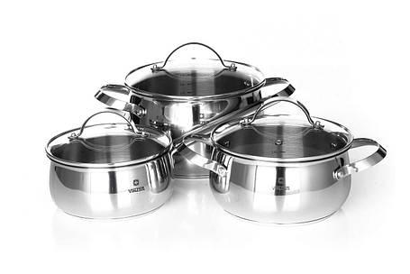 Набор посуды  Culinaire 6 пр. Vinzer 89030, фото 2