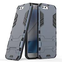 Чехол Asus Zenfone 4 / ZE554KL / 1A036WW Hybrid Armored Case темно-синий