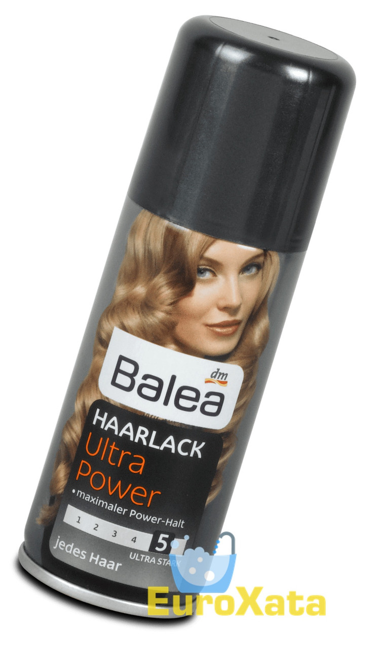 Лак для волос Balea Haarlack Ultra power 5 (100 мл) Германия