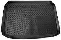 Коврик в багажник для Peugeot 307 НВ (01-08) полиуретановый NPL-P-64-36