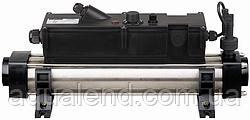 Електронагрівач Elecro FLOW Line 12кВт c титановими тенами і корпусом з нержавіючої сталі 400V