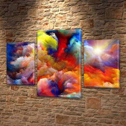 Картины модульные на Холсте, 80х120 см, (55x35-2/80x45), фото 2
