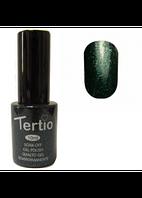 Гель-лак Tertio №53 темно-зеленый с микроблестками 10 мл