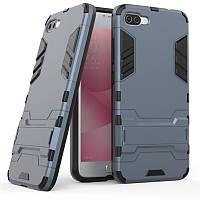 Чехол Asus Zenfone 4 Max / Pro / Plus / ZC554KL Hybrid Armored Case темно-синий