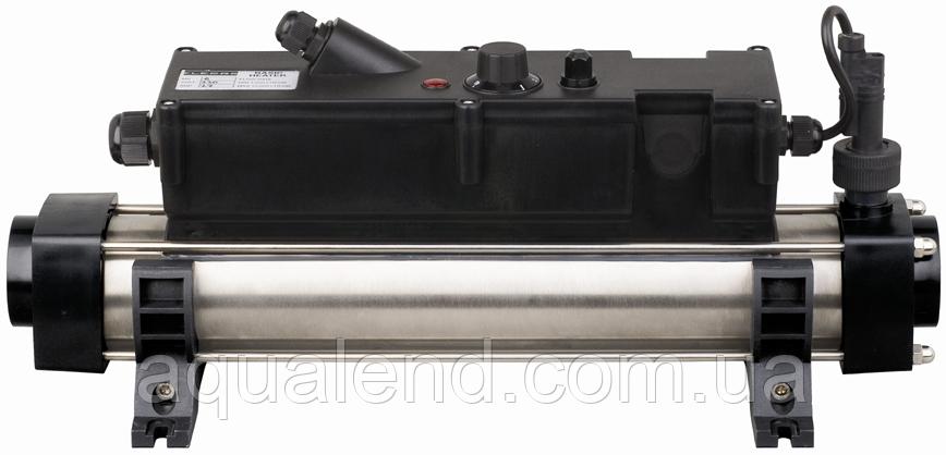 Електронагрівач Elecro FLOW Line 15кВт c титановими тенами і корпусом з нержавіючої сталі 400V