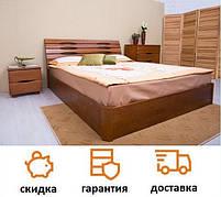 Кровать деревянная с подъемным механизмом Марита V фабрика Олимп