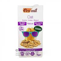 Молоко растительное из овса без сахара и глютена ТМ EcoMil 1л