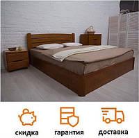 Кровать деревянная с подъемным механизмом из бука София V фабрика Олимп