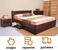 Кровать деревянная с ящиками София V