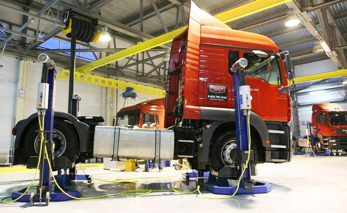 Техническое обслуживание  и ремонт грузовых автомобилей и микроавтобусов