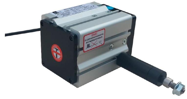 Тросовый потенциометрический датчик серии AWP 120, малогабаритный, трос из нержавеющей стали