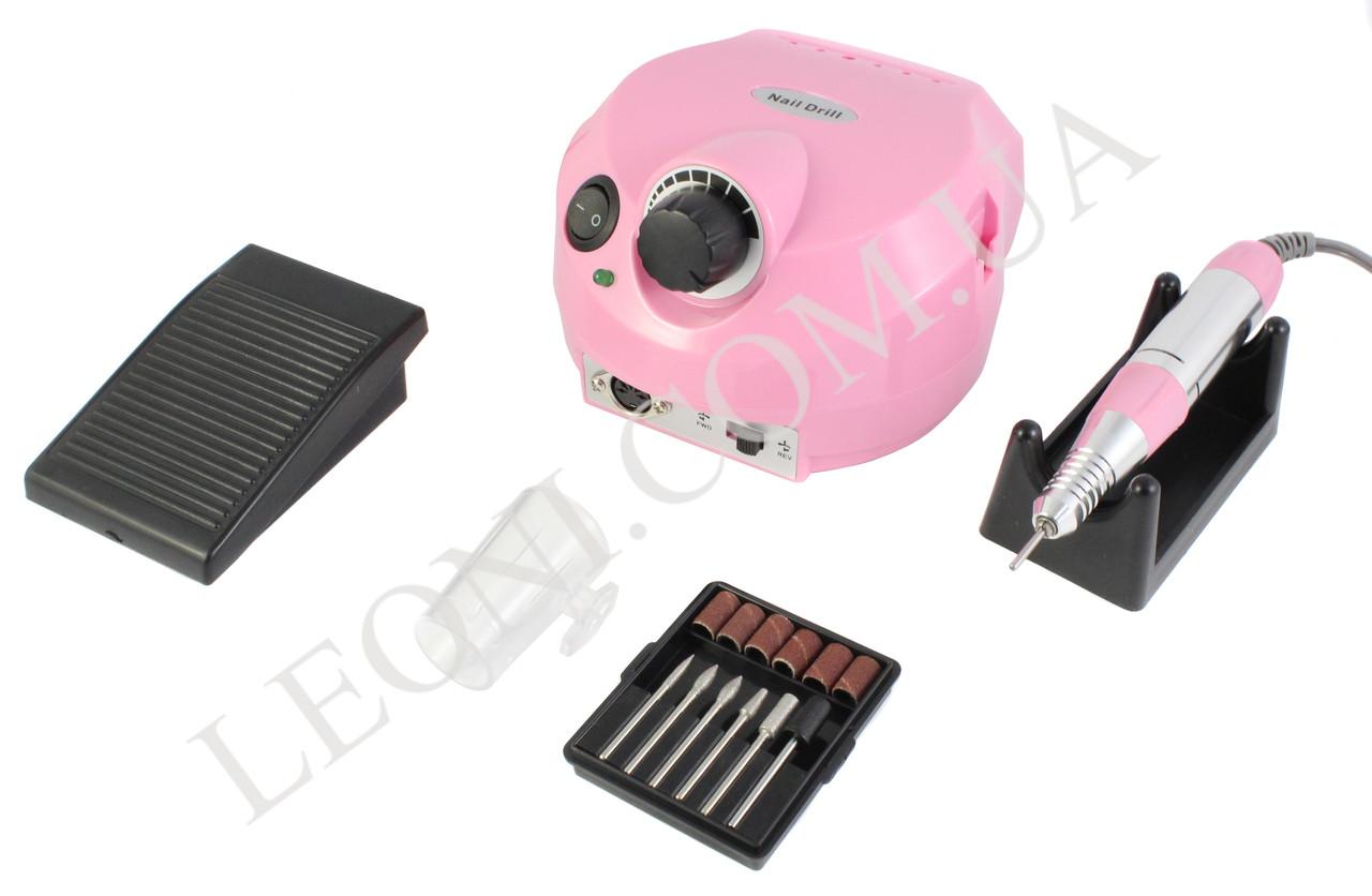 Фрезер для маникюра и педикюра DM - 202 30W/30000 об/мин. (Розовый)