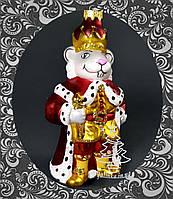 Стеклянная елочная игрушка Король Крыс