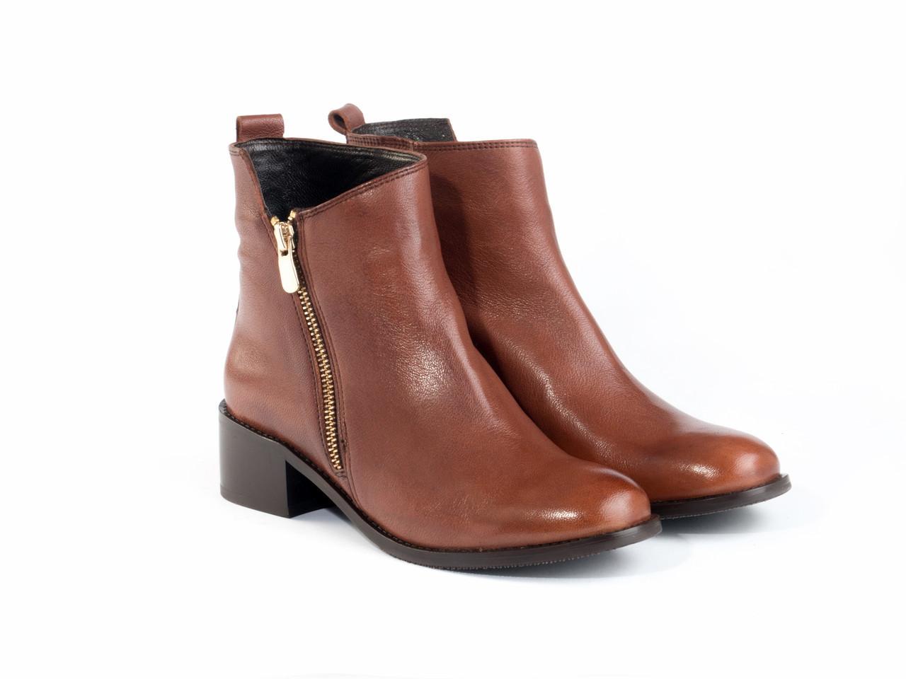 Ботинки Etor 6675-05-3666 40 коричневые
