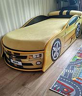 Кровать машина Камаро желтая Mebelkon