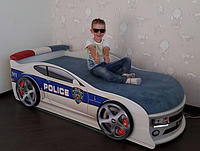 Кровать машина Камаро Полиция Mebelkon
