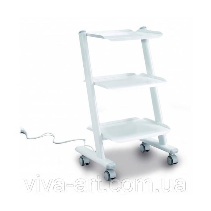 Мобільний малогабаритний столик з вбудованою потрійною розеткою (Італія)