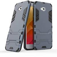 Чехол Asus ZenFone Live / Zenfone 4 Selfie / ZB553KL / ZD553KL Hybrid Armored Case темно-синий