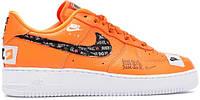 Кроссовки Nike Air Force 1 Low Just Do It Pack Orange | Найк Аир Форс
