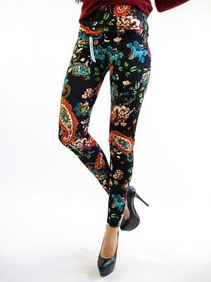 Модные женские лосины с принтом