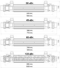 Титановий теплообмінник Elecro 30 кВт, фото 3