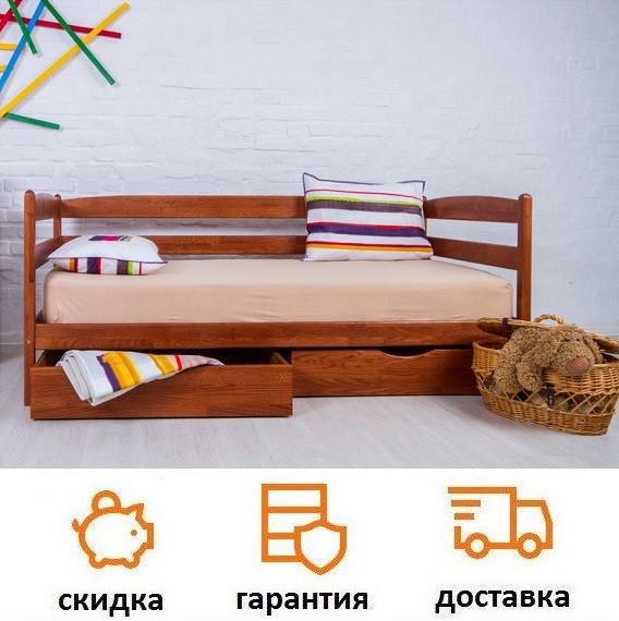 Кровать детская деревянная из бука Марио фабрика Олимп