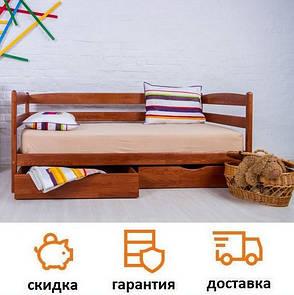Кровать детская деревянная из бука Марио фабрика Олимп, фото 2